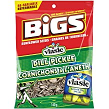 Bigs Sunflower Seeds Dill Pickle, 140g, Pack of 24