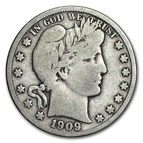 1909 S Barber Half Dollar Fine Half Dollar Fine