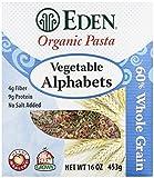 vegetable alphabet pasta - Eden Organic Pasta, Vegetable Alphabets, 16 oz by Eden