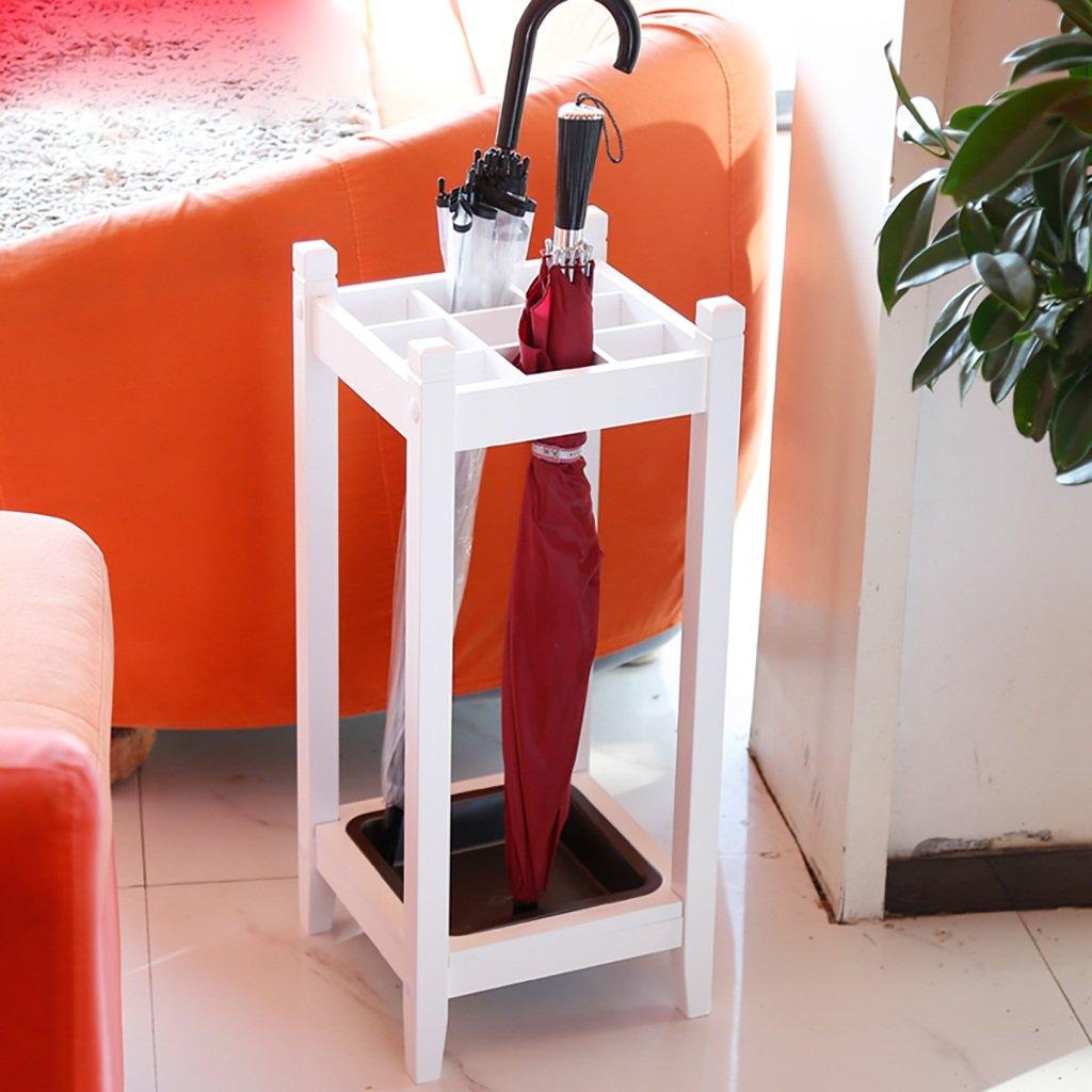 傘の収納 傘ラック家のオフィス使用傘バレルクリエイティブディスプレイ傘ラックストレージ傘 貯蔵傘 (色 : 白) B07F2V6VNM白