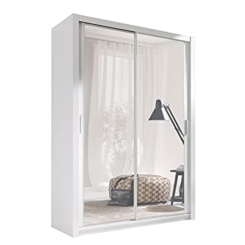 Kleiderschrank mit Spiegel Geodi, Elegante und Modernes ...