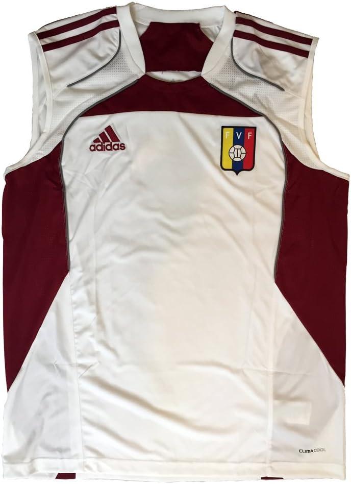 adidas Venezuela Camiseta de Entrenamiento FVF franelilla, poliéster: Amazon.es: Deportes y aire libre