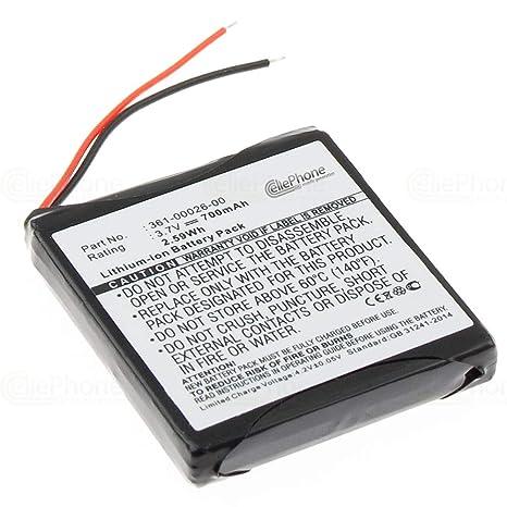 Cellephone 00 Pour 361 205305remplace Batterie 00026 Garmin Li Ion Forerunner UGqVSzMLp