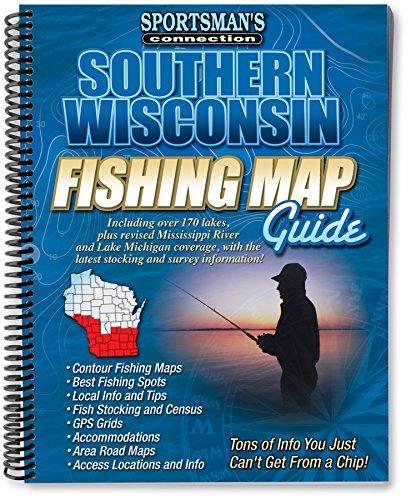 Wisconsin Fishing Maps - Southern Wisconsin Fishing Map Guide