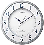 シチズン 掛け時計 電波 アナログ 高感度 スリーウェーブM823 グリーン購入法 適合品 白 CITIZEN 4MY823-003