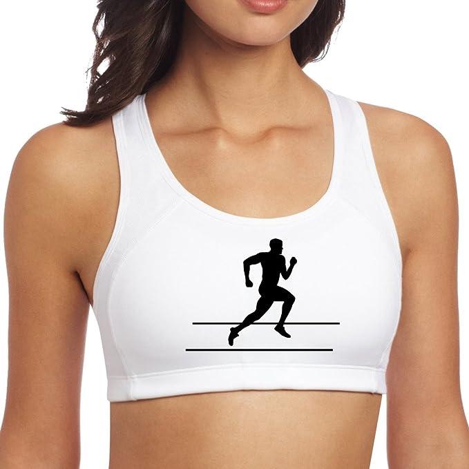 Cómodo Runner running Sprinter libertad entrenamiento deporte sujetador no acolchado sujetador: Amazon.es: Ropa y accesorios