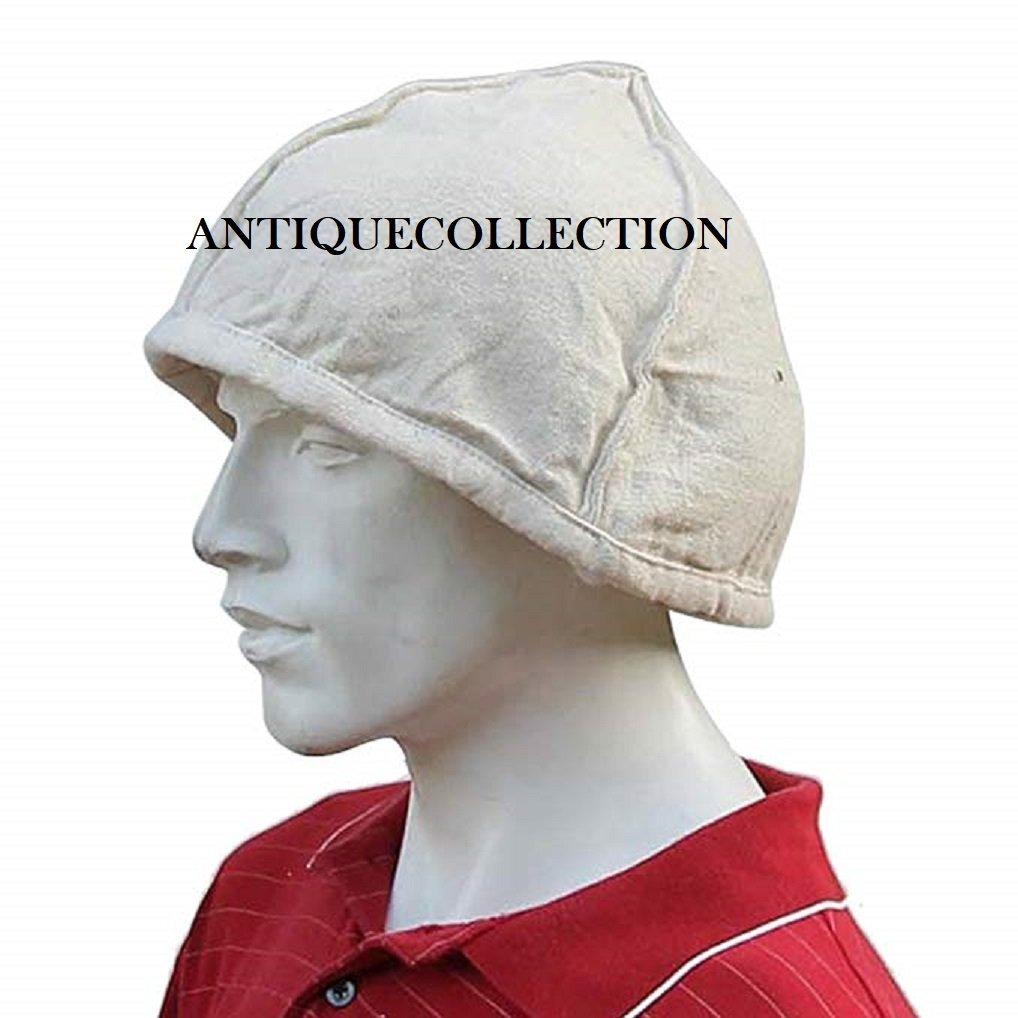 ANTIQUECOLLECTION Padded Siege Warfare Helmet Arming Cap