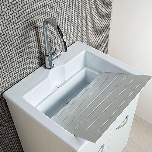 Elle Emme Ci Zeus Laundry Unit With Sink In Abs Double Use