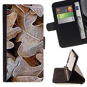Momo Phone Case / Flip Funda de Cuero Case Cover - La helada del invierno del otoño de Alaska Otoño - MOTOROLA MOTO X PLAY XT1562