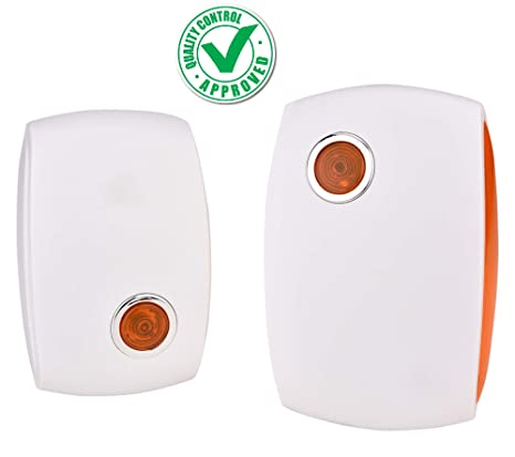 CASON (DEVICE OF C) - Wireless Remote Bell for Office Home Door Bell High Range Remote Calling Bell Cordless Bell with Remote Wireless Doorbell (White)