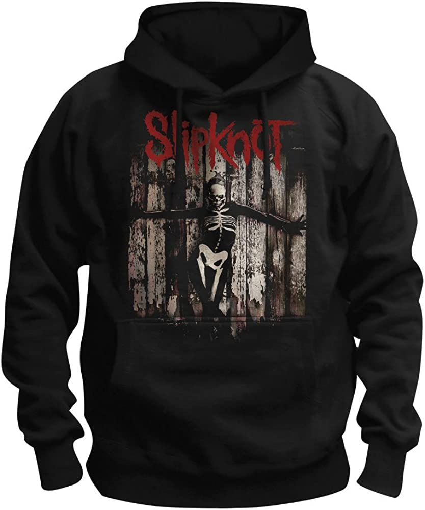 Slipknot Gray Chapter Felpa Con Con Cappuccio Nero