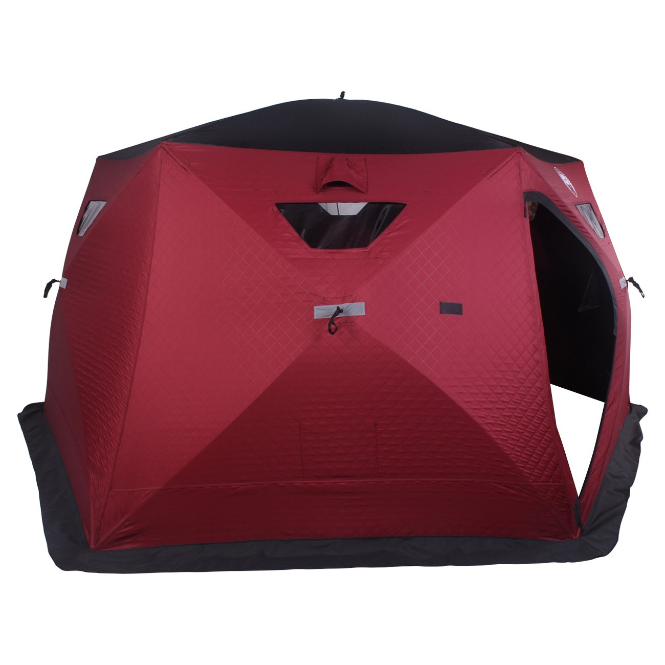 Nordic Legend Hex-Hub 6 to 8 Man Portable Thermal Ice Shelter