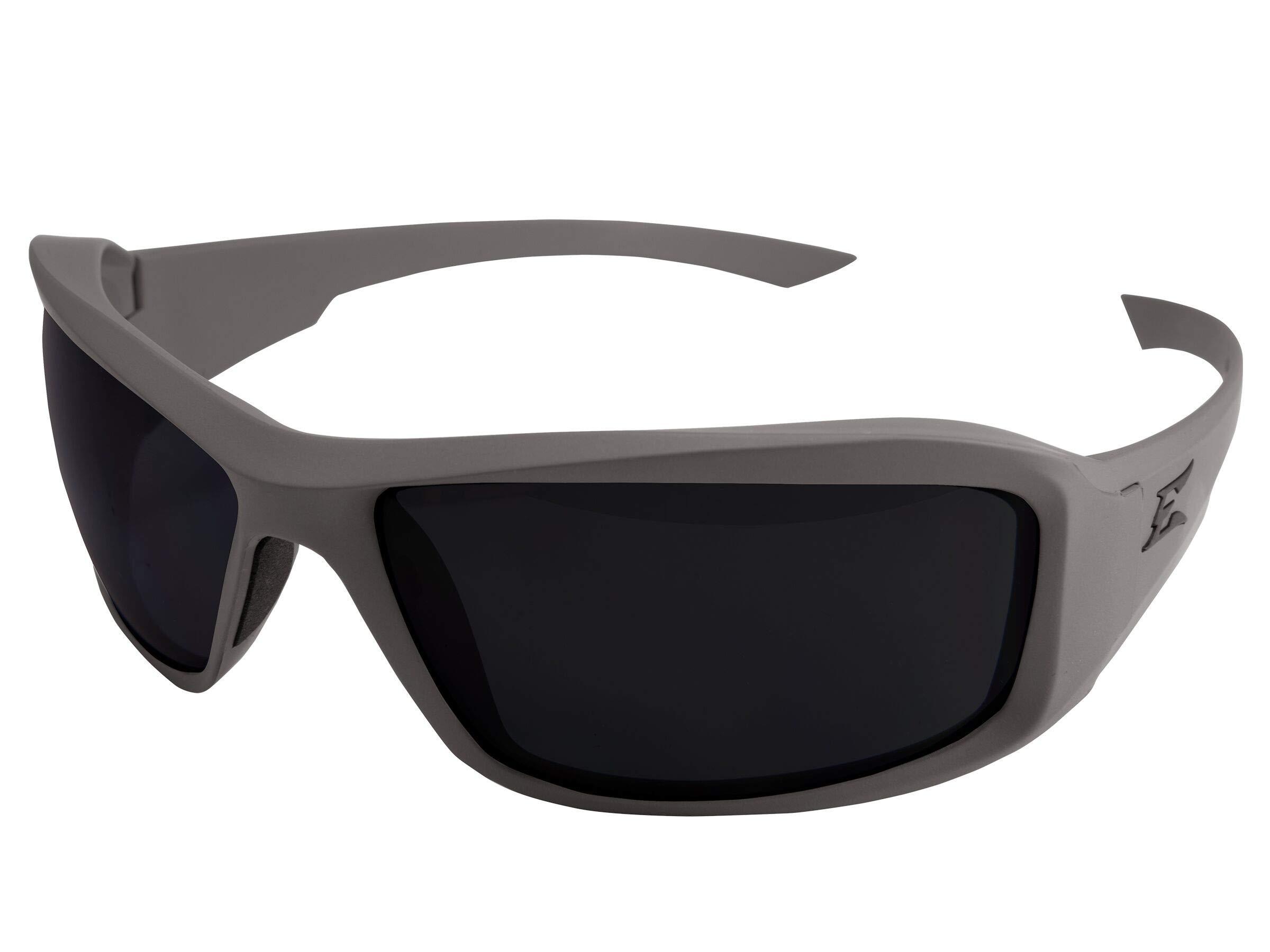 Edge Eyewear TXH746-TT Hamel MAS Gray Thin Temple - Soft-Touch Gray Frame/Polarized Smoke Lenses by Edge Eyewear