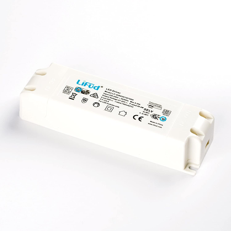 Lifud 29 W LED Driver 700ma 27 –  42 V LF GIR030YI0700H Driver Transformer