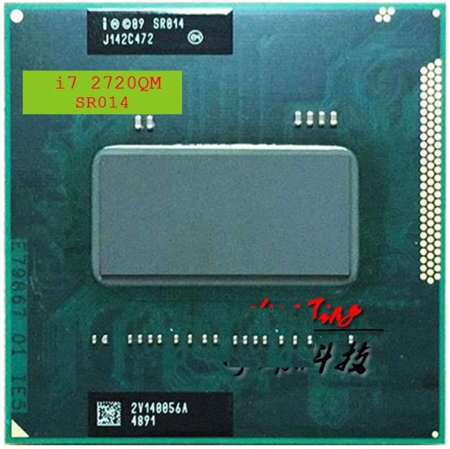 Intel Core I7-2720QM I7 2720QM SR014 2.2 GHz Quad-Core Eight-Thread CPU Processor 6M 45W Socket G2 RPGA988B