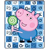 Peppa Pig - couverture polaire George