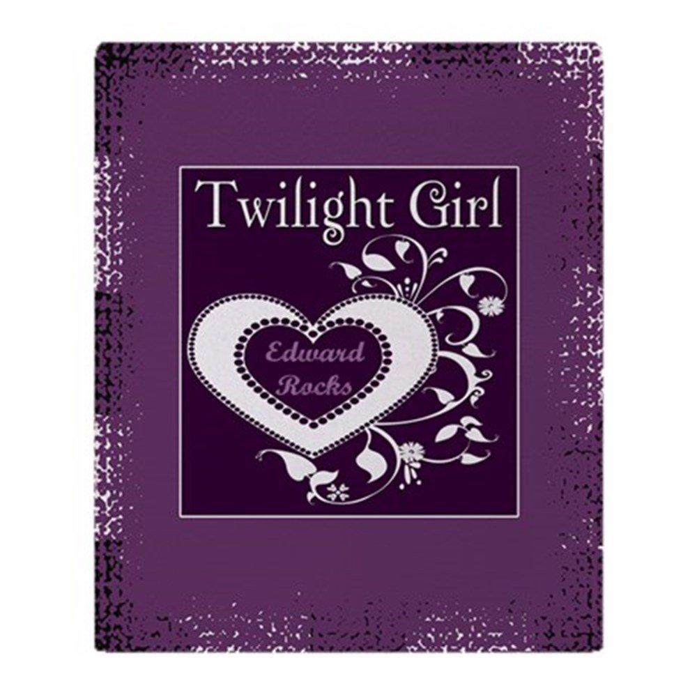 CafePress - Twilight Girl (Edward) Throw Blanket - Soft Fleece Throw Blanket, 50''x60'' Stadium Blanket