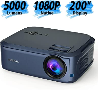 Proyector Full HD Nativo 1080P LCD LED Videoproyector 4000Lumens ...