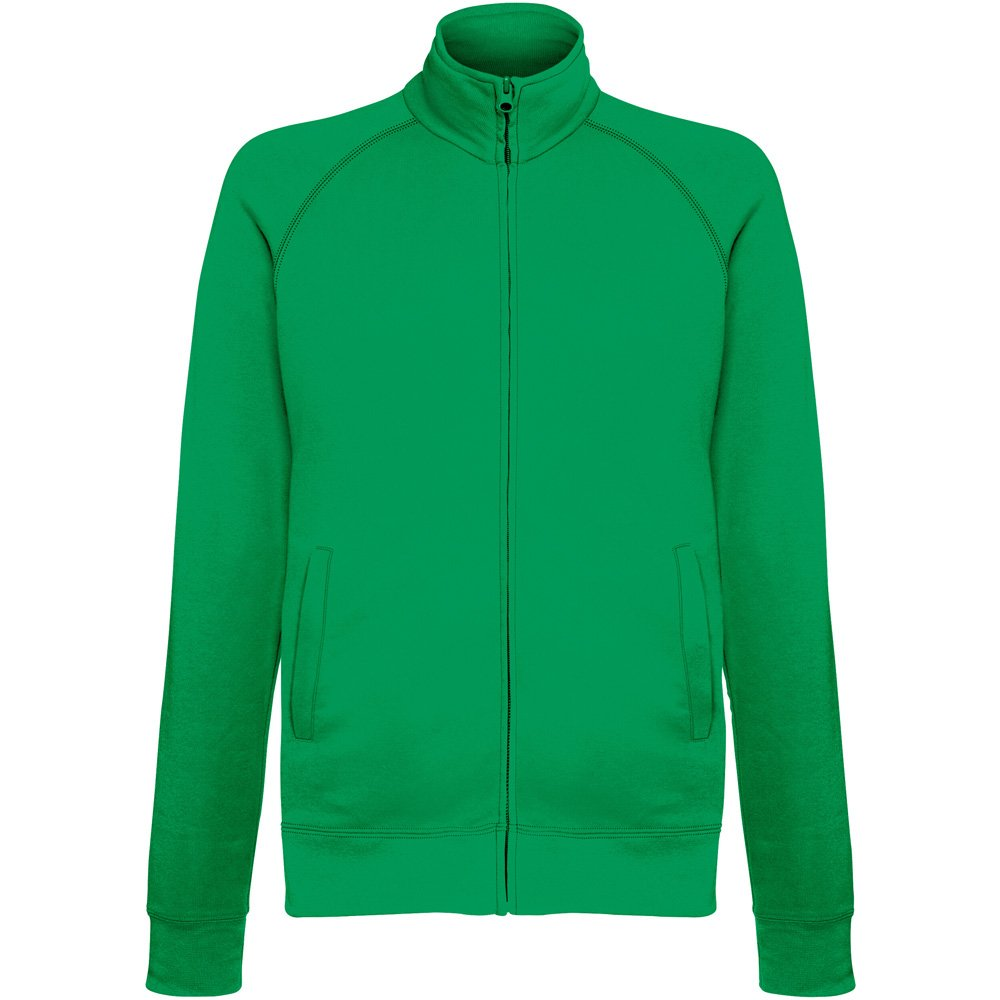 Fruit of the Loom Mens Mens Lightweight Full Zip Sweatshirt Jacket