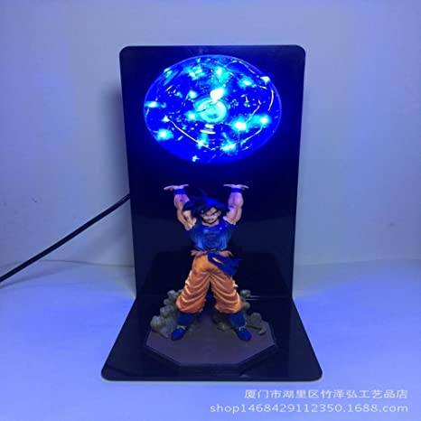 CXQ anime Dragon Ball Sun Wukong lámpara de mesa creativa ...