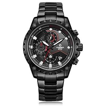 CASIMA Mens 100M Waterproof Quartz Sport Wrist Watch ...