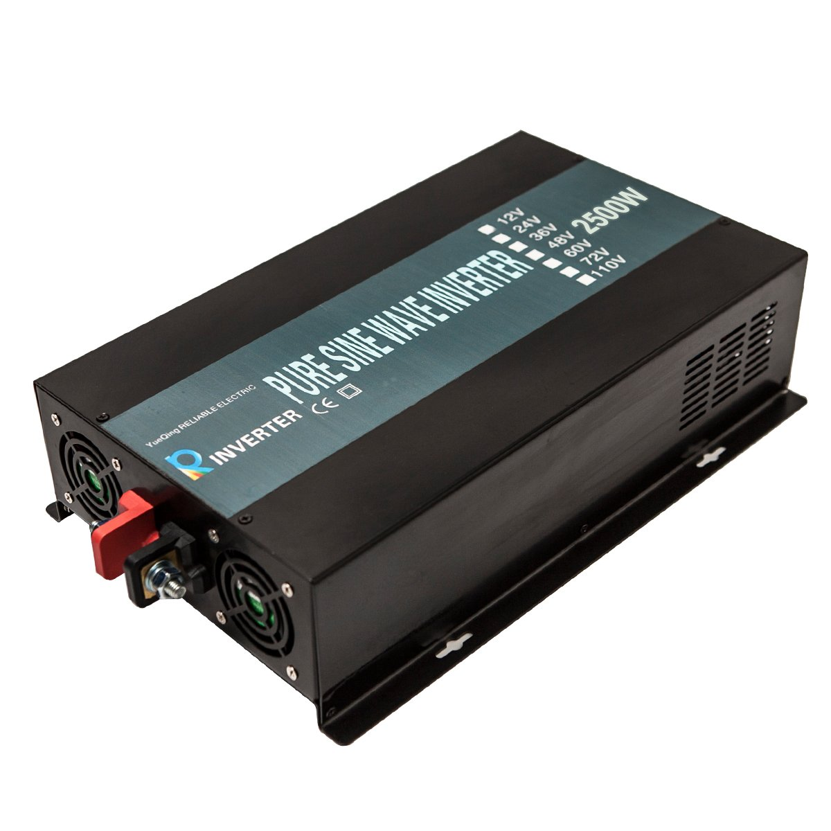 Reliable 2500W High Compact Pure Sine Wave Inverter Dc to Ac Power Converter For Home Solar Power System (Black Iron) by WZRELB (Image #4)