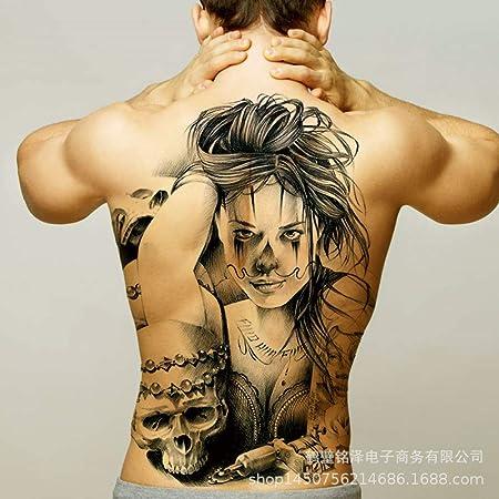 tzxdbh 2 Unids-Nuevo Etiqueta Engomada del Tatuaje Completo A ...
