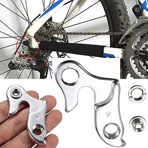 1 Pc MTB Bike Bicycle Rear Gear Mech Derailleur Hanger Dropout Convertor Adapter (Random: Color) (Mtb Claw)