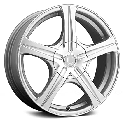 Amazon Ultra 60Su Slalom Сustom Wheel Silver 60 X 6060 460 Unique 5x108 Bolt Pattern