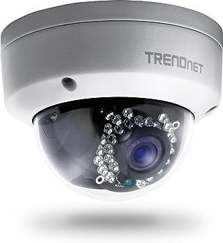 TRENDnet TV-IP321PI 1.3MP 720p HD PoE Dome IR Network Camera