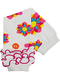 BabyLegs Prism Petals Leg Warmers, White/Pink/Blue/Yellow, One Size Fits Most
