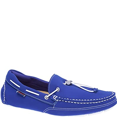 Sebago Mens Kedge Tie Neoprene Slip-On,Dark Blue Textile/Neoprene,US