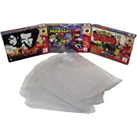 5 x N64 Nintendo 64 Box Clear Sleeve Protector Covers