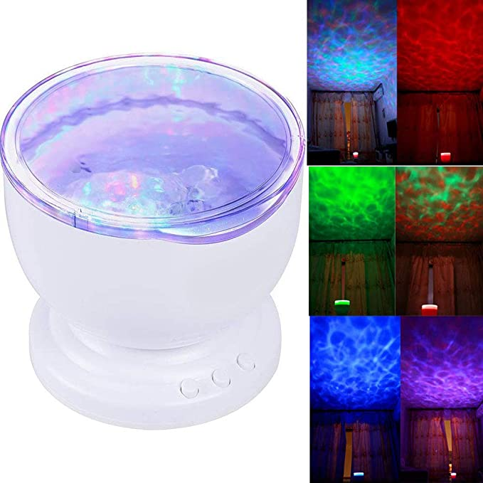 Para cambiar el Color Aurora Ocean Asiawill LED lámpara del ...