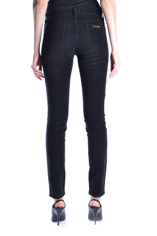 Whos Who Womens MCBI14151 Black Cotton Jeans