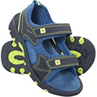 Mountain Warehouse Pebble Junior Sandals - Neoprene Lining Kids Shoes, Phylon, Removable Heel Strap, Hook & Loop Fitting Summer Beach Shoes -for Winter Travelling, Walking
