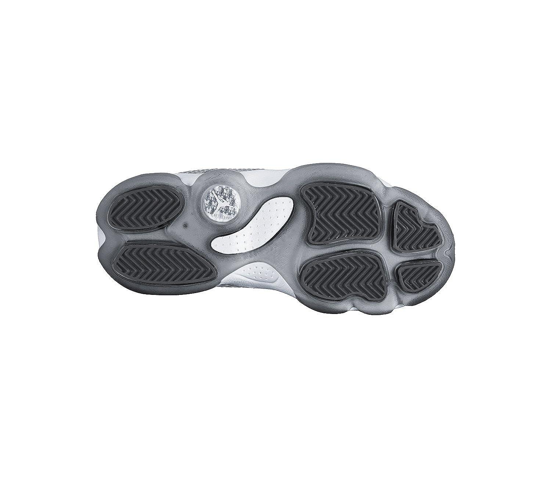 PS Wolf Grey//Dark Grey//White 12.5C Nike Boys Jordan Horizon Basketball Shoe