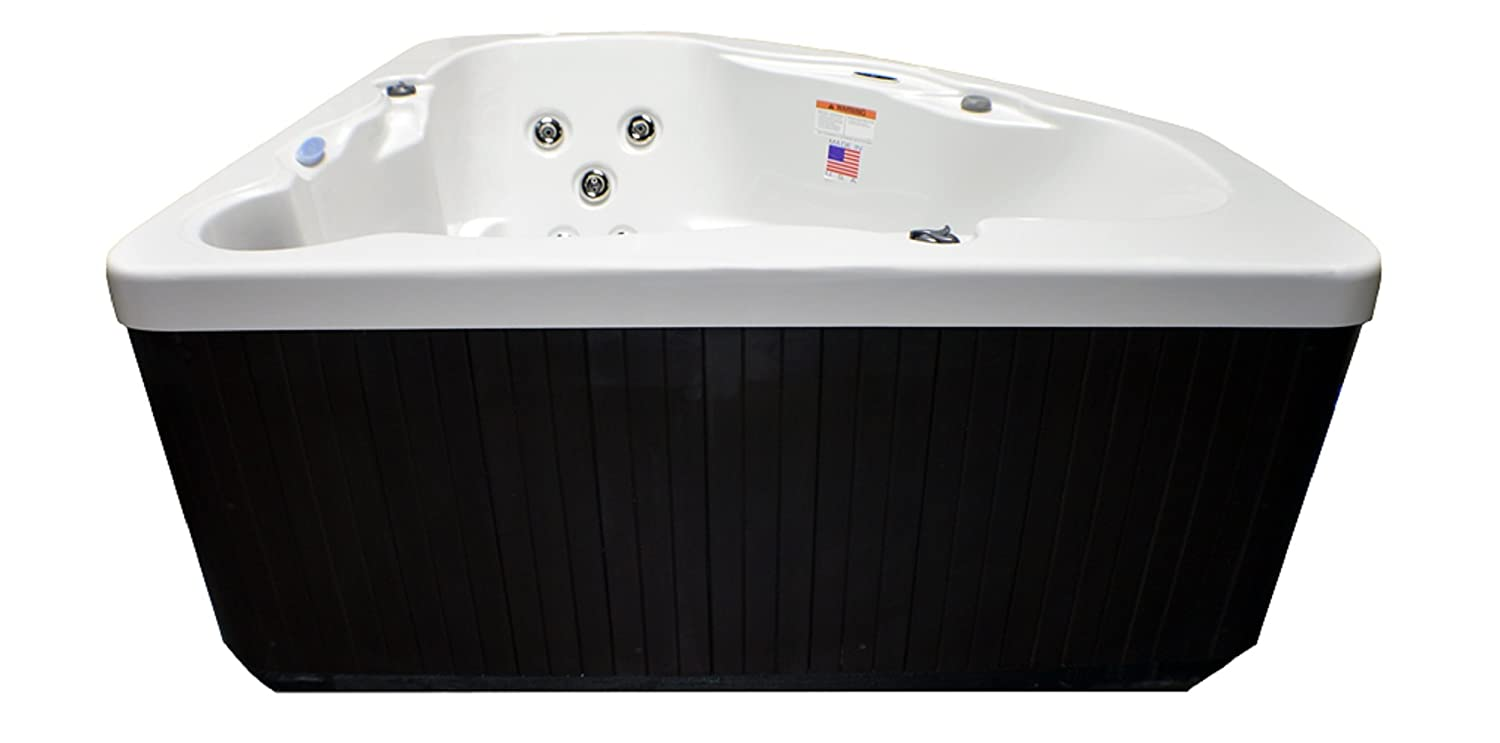 Amazon.com : Home And Garden Spas Hudson Bay 3 Person 14 Jet Spa With  Stainless Jets And 110V GFCI Cord Included. : Garden U0026 Outdoor