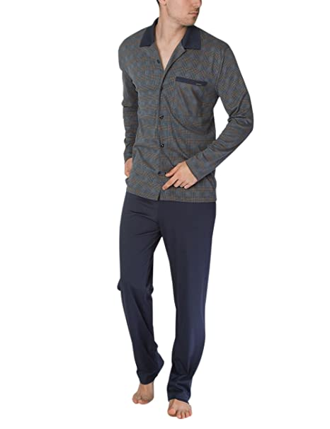 Calida George Herren Pyjama, Conjuntos de Pijama para Hombre: Amazon.es: Ropa y accesorios