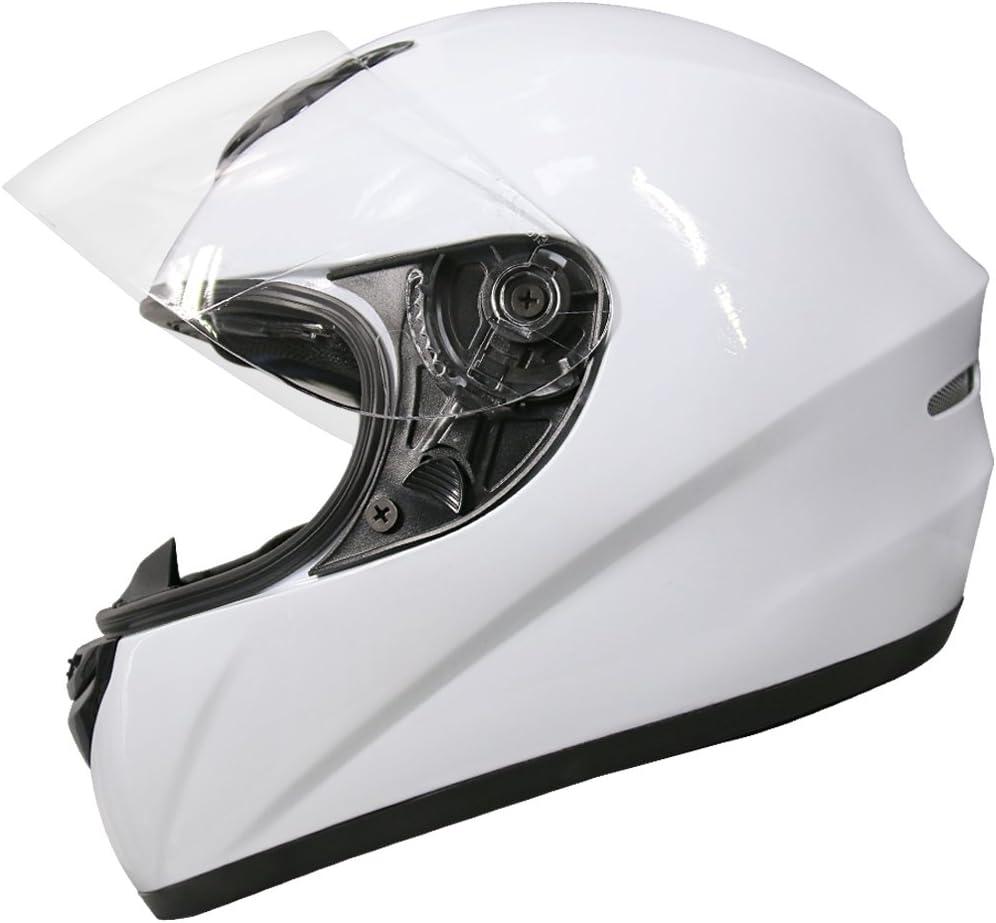 Leopard LEO-819 Full Face Motorbike Motorcycle Helmet Road Legal Free Extra Visor