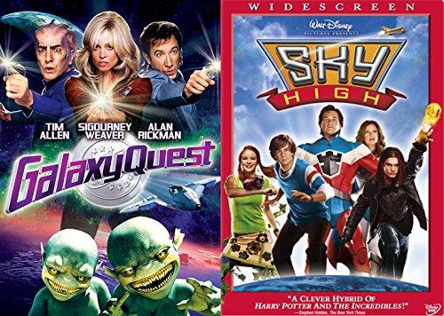 Family Adventures Sky High Disney & Galaxy Quest DVD Double Feature Fun