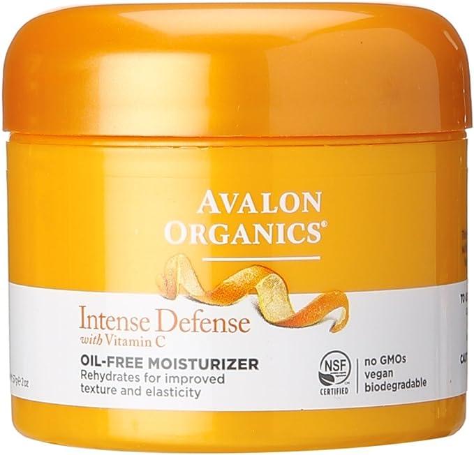Avalon Organics hidratante sin aceite rejuvenecedor vitamina C – 2 ...