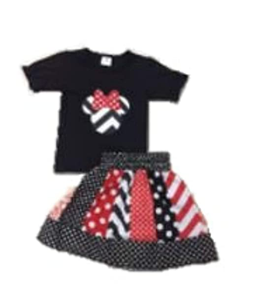 Amazon.com: Minnie Mouse - Falda para niña, color negro y ...