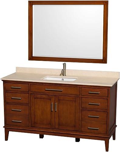 Wyndham Collection Hatton 60 inch Single Bathroom Vanity