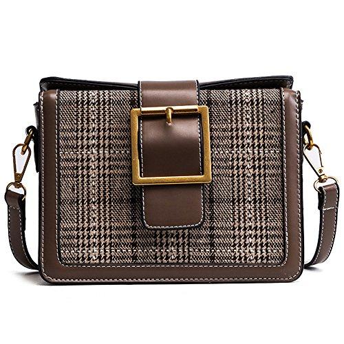 Meaeo Square Shoulder Bag Small Bag Messenger Simple And Elegant Ac