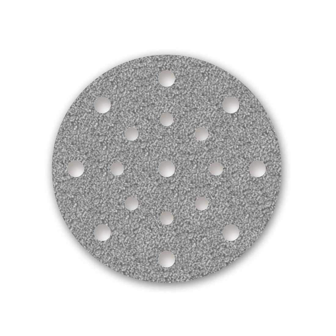 /Ø 150 mm 50 Dischi abrasivi velcrati MENZER per levigatrice roto orbitale Grana 40-17 fori
