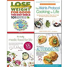 Wahls protocol cooking, life changing rescue solution,healthy medic food and diet bible 4 books collection set