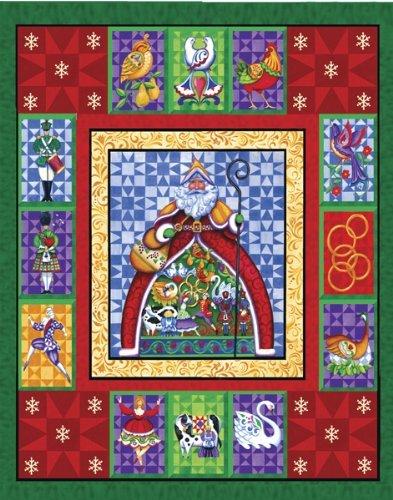 Jim Shore 12 Days of Christmas Jigsaw Puzzle 1000pc by Springbok
