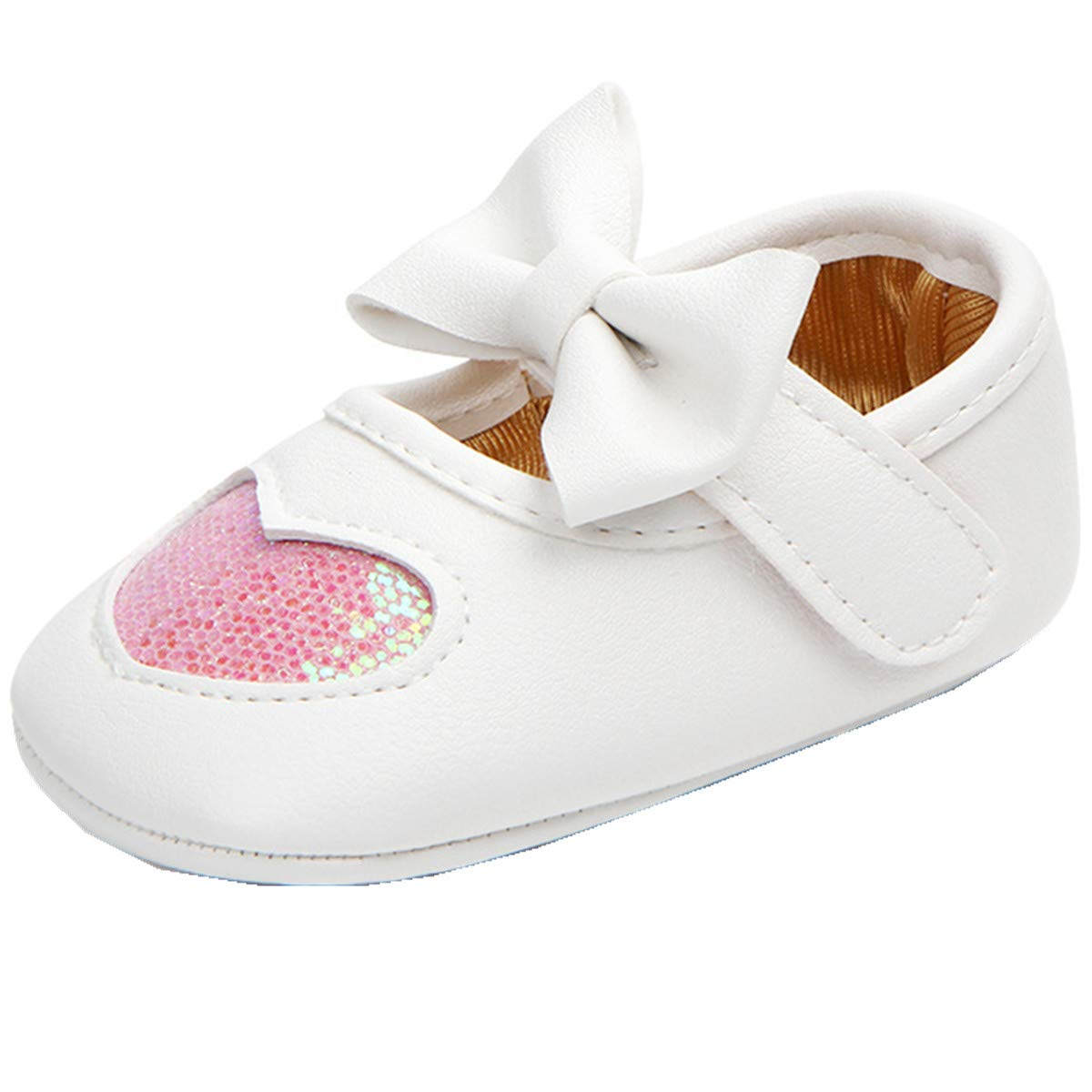 Infants Shoes,Newborn Shoes for Baby Girl Boy,Spring//Fall Baby Shoes Flower ADIASEN Baby Unisex Baby Shoes,Soft Non-Slip Toddler Shoes