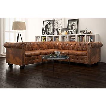 Luckyfu Diseno Moderno Mobiliario Sofas Sofa Chesterfield 5 ...